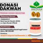 Laporan Donasi Bulan Agustus 2015