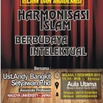 "INFO TalkShow Islami, ""Harmonisasi Islam Berbudaya Intelektual"" Ust. Andy Bangkit, PhD."