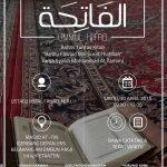 """Info Kajian, """"Memetik Mutiara Faedah Surat Al-Fatihah – Syarah Kitab Ba'dlu Fawaid Min Suratil Fatihah"""" Ustadz Ikmal Fahd, M.P.I (30 April 2016)"""