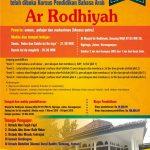 Info Belajar Bahasa Arab Dasar, Masjid Ar-Rodhiyah, Ngringo, Jaten