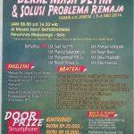Info Pendaftaran Pesantret Kilat Bekal Masa Depan dan Solusi Problematika Remaja ANgkatan ke-2, Mojosongo, Surakarta (5-6 Mei 2016)
