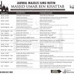 Jadwal Kajian Rutin Masjid Umar bin Khattab (Kartasura, Surakarta)