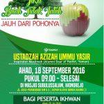Jika Buah Tida Jatuh Jauh dari Pohonya Bersama Ustadzah Ummu Yasir