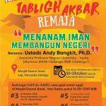 """Info Tabligh Akbar, """"Menanam Iman, Membangun Negeri"""" Ust. Andy Bangkit, Ph.D"""