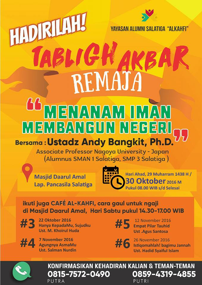 andy bangkit, Ph.D