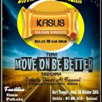 "Info Kajian, ""Move On Be Better"" Ustadz Umar al-Fanani, Lc. (Gemolong, Ahad 30 Oktober 2016)"