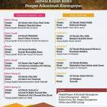 Jadwal Kajian Rutin PonPes Al Karimah, Jungke, Karanganyar