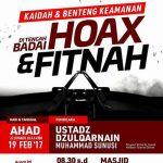 Kaidah dan Benteng Keamanan di Tengah Badai Hoax dan Fitnah Bersama Al Ustadz Dzulqarnain bin Muhammad Sunusi