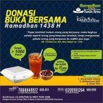Donasi Kajian dan Buka Puasa Ramadhan 1438 H – FSI Tunas Ilmu