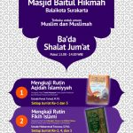 Kajian Rutin Masjid Baitul Hikmah Balaikota Surakarta
