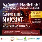 Info Jadwal Safari Dakwah Al Ustadz Subhan Bawazier di Solo