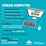 DONASI KOMPUTER UNTUK OPERASIONAL KAJIANSOLO.COM