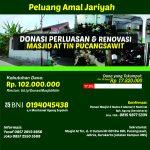 Donasi Renovasi dan Fasilitas Masjid At-Tin, Surakarta