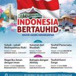 DAUROH NASIONAL, INDONESIA BERTAUHID