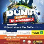 "Download Kajian Akbar ""Dunia Hanya di Tanganku"" bersama Ustadz Ammi Nur Baits"
