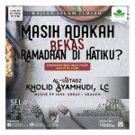 """Download Rekaman (Audio) Kajian Menjelang Buka Puasa 9 Dzulhijjah 1439 H """"Masih Adakah Bekas Ramadhan di Hatiku ?"""", bersama Ustadz Kholid Syamhudi, Lc."""