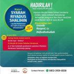 Kajian Kitab Riyadhus Sholihin Masjid Al Karim Pabelan