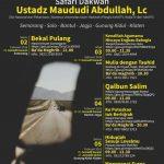 Safari Dakwah Ustadz Maududi Abdullah, Lc di Solo